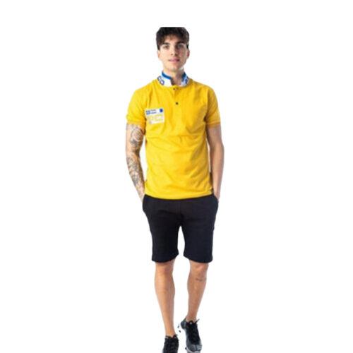 ΑΝΔΡΙΚΟ POLO PACO&CO WITH REFLECTIVE STRIPS XΡΩΜΑ ΚΙΤΡΙΝΟ 201572-yellow