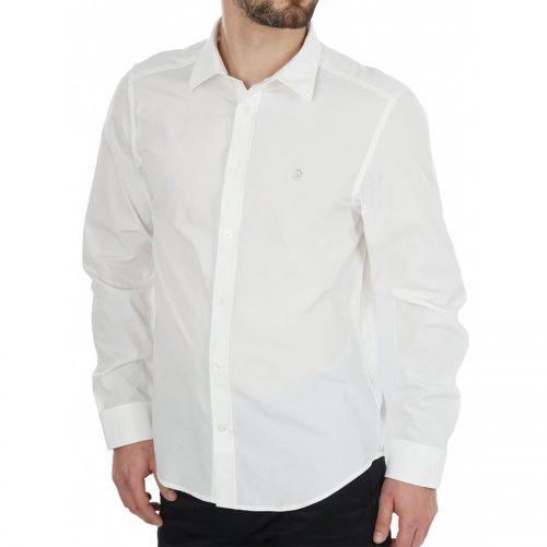 Ανδρικό Πουκάμισο DIESEL Χρώμα Λευκό DIESEL S-BILL SHIRT