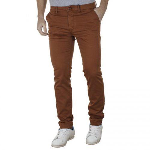 Ανδρικό Παντελόνι Casual Chinos SCINN DILBERT Χρώμα Καφέ