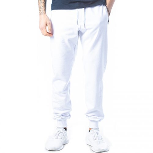 Aνδρικό Παντελόνι Φόρμας PACO & CO Χρώμα Λευκό Men's Jogger Pant