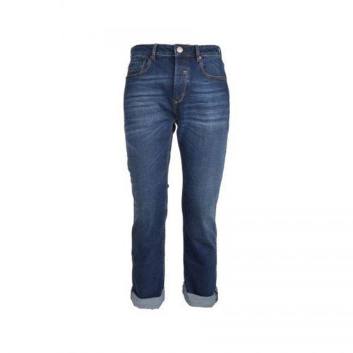 Ανδρικό Παντελόνι SCINN ZACK D Χρώμα Τζιν Σκούρο