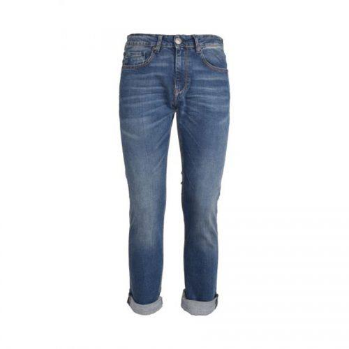 Ανδρικό Παντελόνι SCINN ZACK M Χρώμα Τζιν Σκούρο