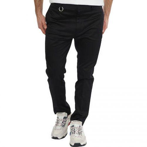 Ανδρικό Υφασμάτινο Παντελόνι DIESEL Χρώμα Μαύρο Diesel P-Mad-Ichiro 00SNUV-0WATD-900 -Black
