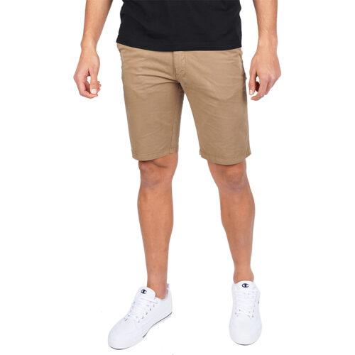 Ανδρική Υφασμάτινη Βερμούδα EMERSON Χρώμα Μπεζ Emerson Mens Stretch Chino Short Pants 201.EM46.91 Beige