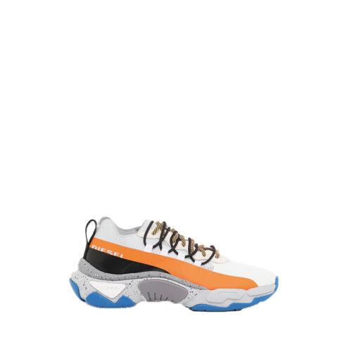 Diesel Ανδρικά Sneakers Χρώμα Λευκό SKIPPER S-KIPPER BAND - Sneakers Y02112-P3149-H7109 Star White