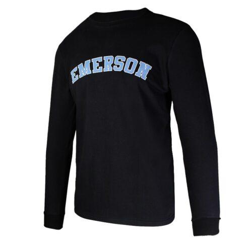 Emerson Men's L/S T-Shirt BLACK