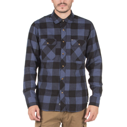 Emerson Ανδρικό πουκάμισο 202.EM60.80 Blue-Black
