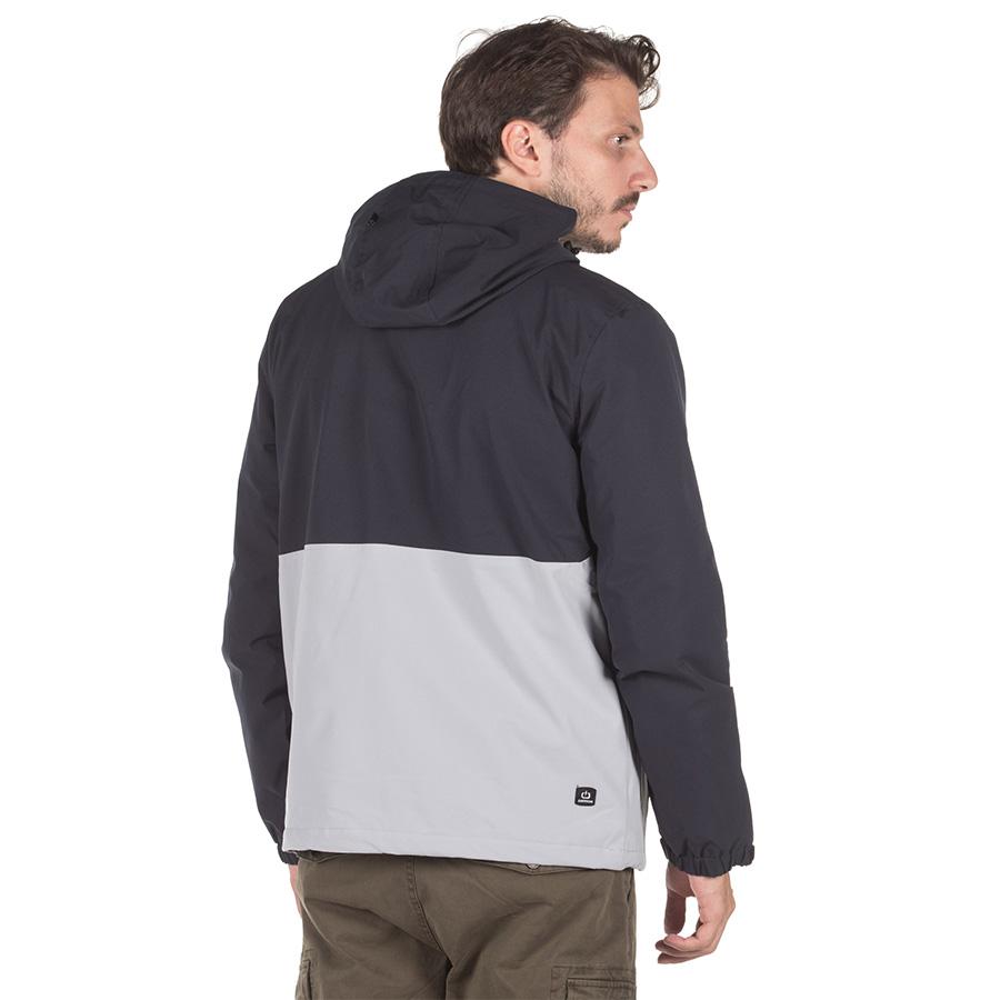 Emerson Ανδρικό Μπουφάν Με Κουκούλα Men's Pullover Jacket with Hood K9 202.EM10.68 -Ice/Navy Blue