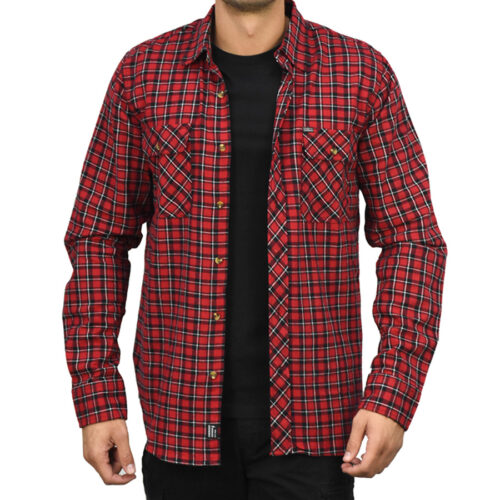 Emerson Ανδρικό πουκάμισο 202.EM60.80 Red-Black