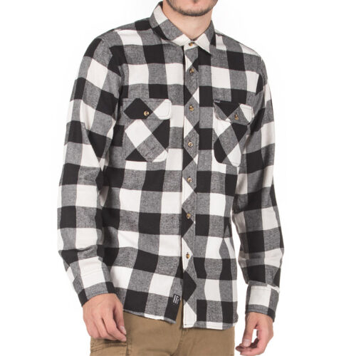 Emerson Ανδρικό πουκάμισο 202.EM60.80 Black-White