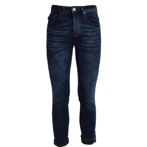 Ανδρικό Παντελόνι Τζιν SCINN FERREZ BB Χρώμα Σκούρο Μπλε ferrezbb-blue