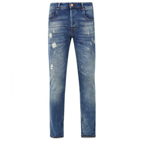 Ανδρικό Παντελόνι SCINN ELTON LD Χρώμα Μπλε eltonld-blue