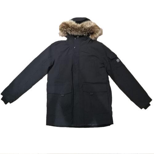 Emerson Ανδρικό Μπουφάν Με Κουκούλα Men's Pullover Jacket with Hood 202.EM10.57-Black