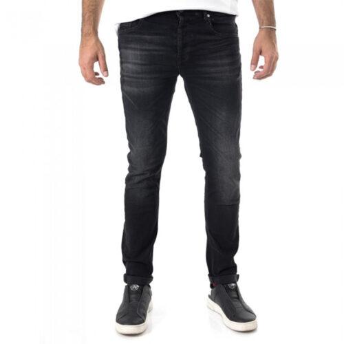 Ανδρικό Παντελόνι Τζιν SCINN FERREZ B Χρώμα Μαύρο ferrezb-black