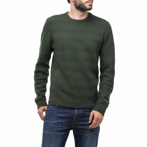 Ανδρική Πλεκτή Μπλούζα LΕΕ Χρώμα Πράσινο Lee/green