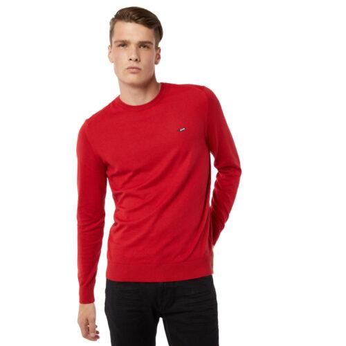 Ανδρική Πλεκτή Μπλούζα GAS Χρώμα Κόκκινο ayron / s r. collar fr-res