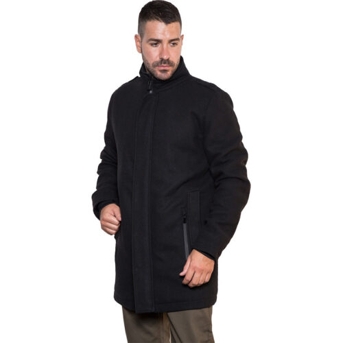 Biston Παλτό Χρώμα Μαύρο Coat Biston 42-201-065-black