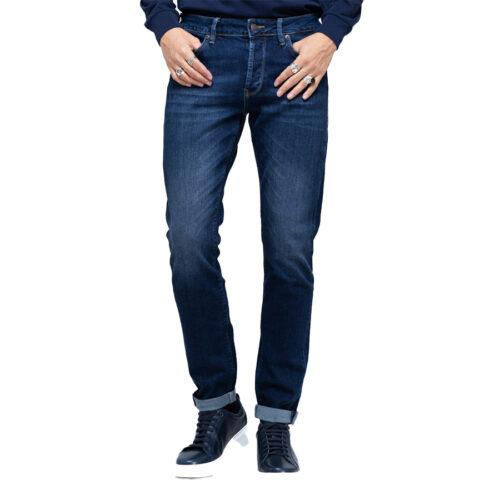 Ανδρικό Παντελόνι Τζιν STAFF Χρώμα Μπλε Simon Man Pant 5-829.585.B1.044-blue