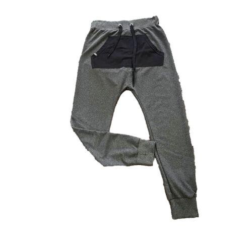 Ανδρικό Παντελόνι Φόρμα Bράκα PACO & CO Χρώμα Γκρι paco-8436-Grey