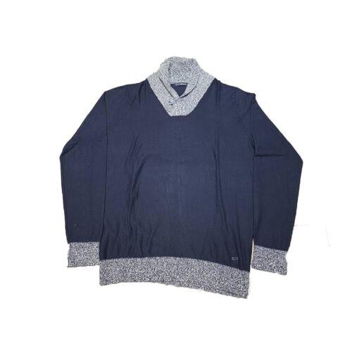 Ανδρική Μπλούζα GAS Χρώμα Μπλε/Γκρι GAS -Blue/Grey