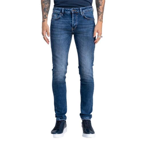 Ανδρικό Παντελόνι Τζιν STAFF Χρώμα Μπλε Simon Man Pant 5-829.585.B2.044-blue