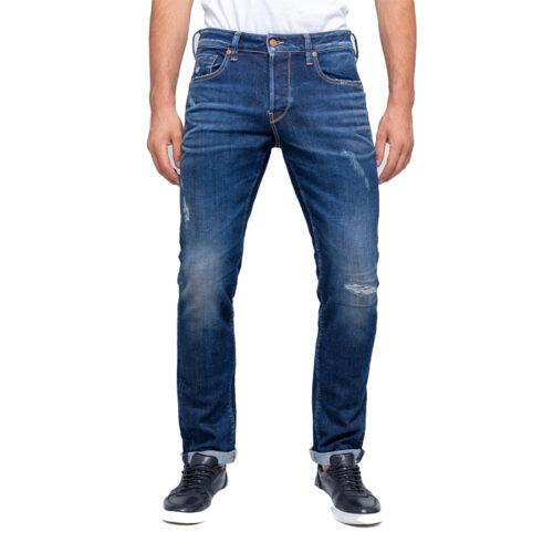 Ανδρικό Παντελόνι Τζιν STAFF Χρώμα Μπλε Simon Man Pant 5-829.585.S2.044-blue