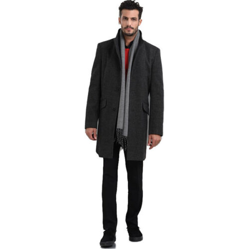 Biston Παλτό Χρώμα Γκρι Coat Biston 42-201-034-Grey