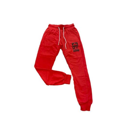 Ανδρικό Παντελόνι Φόρμας PACO & CO 201605 Χρώμα Kόκκινο Men's Jogger Pant
