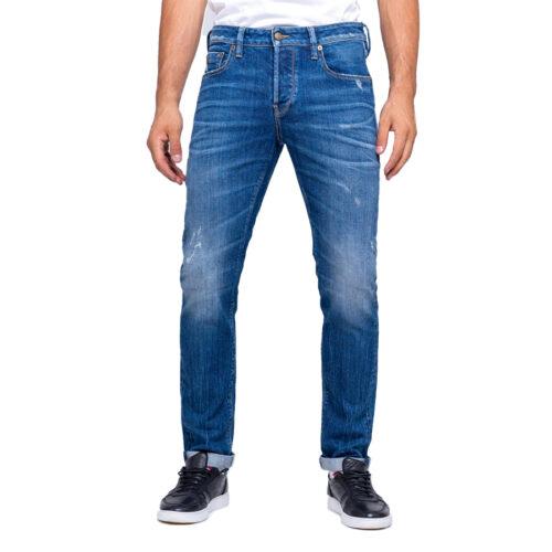 Ανδρικό Παντελόνι Τζιν STAFF Χρώμα Μπλε Simon Man Pant 5-829.493.S3.044-blue