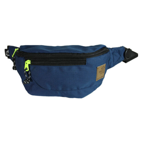 EMERSON SLIM WAIST BAG Χρώμα Μπλε- WBE0006-navy