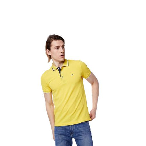 Ανδρική Πόλο Μπλούζα Gas Χρώμα Κίτρινο Men's Short Sleeve Polo Shirt Gas 2888-0280-yellow
