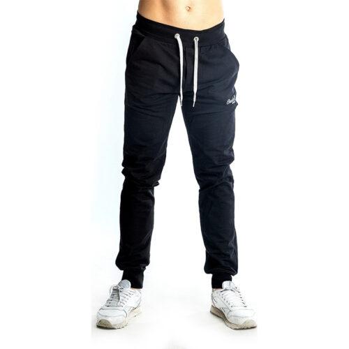 Aνδρικό Παντελόνι Φόρμας PACO & CO Χρώμα Μαύρο Men's Jogger Pant 85304-Black
