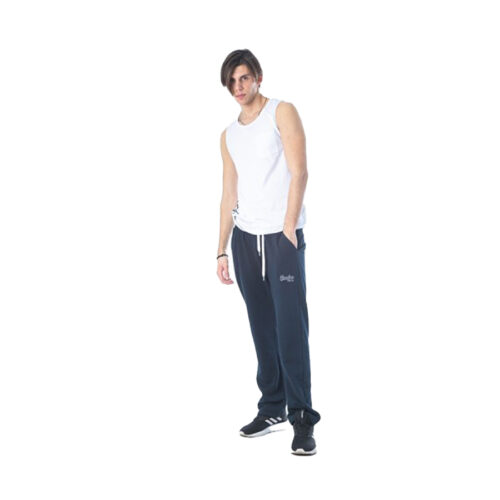Aνδρικό Παντελόνι Φόρμας PACO & CO Χρώμα Μπλε Men's Jogger Pant 85304-Blue