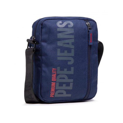 PEPE JEANS Τσαντάκι Hooper Bag Χρώμα Μπλε PM030632/583-thames