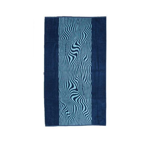 Emerson Πετσέτα Θαλάσσης 86x160 Navy Blue 201.EU04.70 PR193 NAVY 86x160