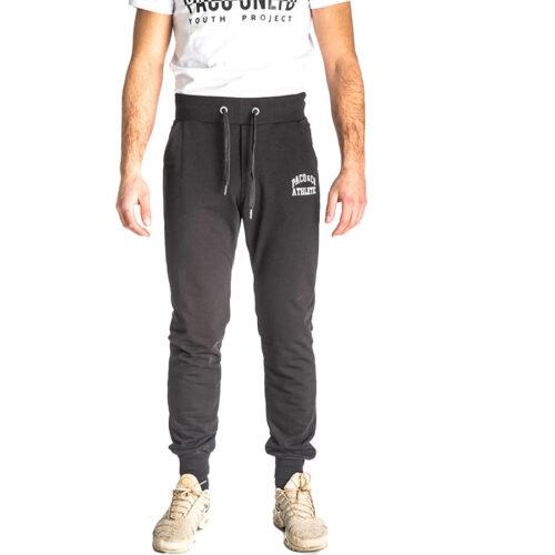 Aνδρικό Παντελόνι Φόρμας PACO & CO Χρώμα Μαύρο Men's Jogger Pant 213674-black