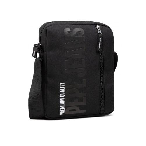PEPE JEANS Τσαντάκι Hooper Bag Χρώμα Μαύρο PM030632/999-black