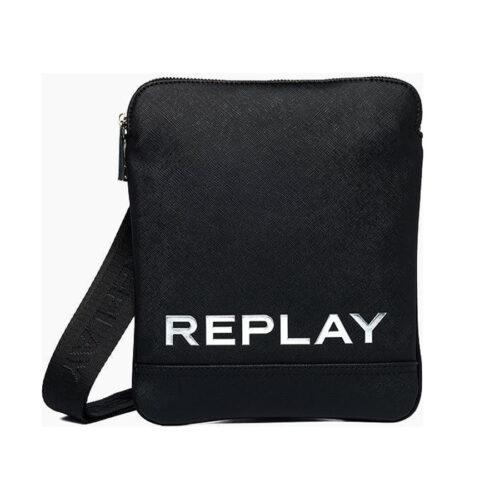 Replay Ανδρική Τσάντα Ώμου – Χιαστί Χρώμα Μαύρο FM3488.000.A0283C-098-Black