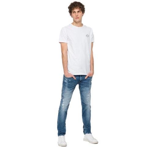 Ανδρικό Παντελόνι REPLAY Χρώμα Μπλε M914Y.000.141 834-009- medium blue