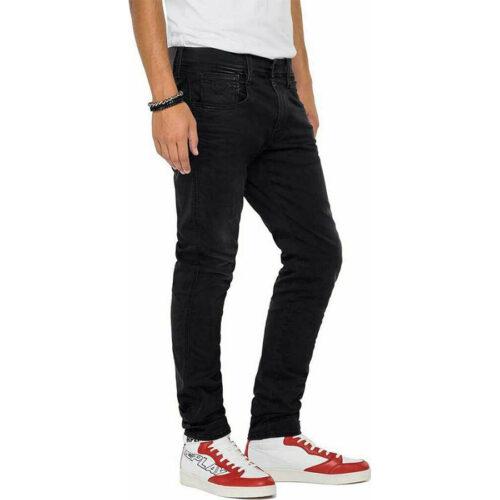 Ανδρικό Παντελόνι REPLAY Χρώμα Μαύρο M914Y.000.661XRB1-098 black