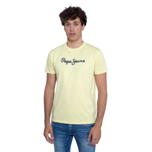 ΑΝΔΡΙΚΟ T-SHIRT E2 NOS EGGO PEPE JEANS PM500465-014 sorbet lemon