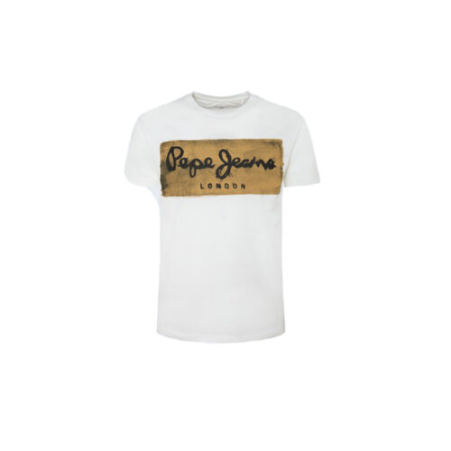ΑΝΔΡΙΚΟ T-SHIRT E1 CHARING PEPE JEANS PM503215-803 off white