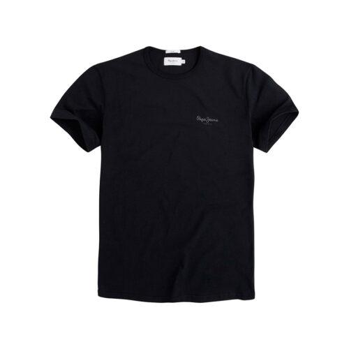 ΑΝΔΡΙΚΟ T-SHIRT NOS ORIGINAL BASIC PEPE JEANS PM503835-999 black