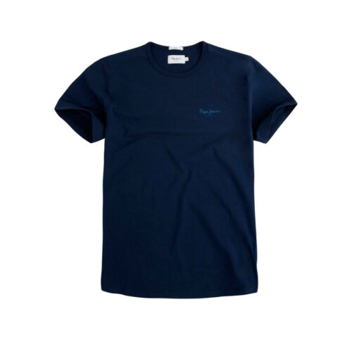 ΑΝΔΡΙΚΟ T-SHIRT NOS ORIGINAL BASIC PEPE JEANS PM503835-595 navy