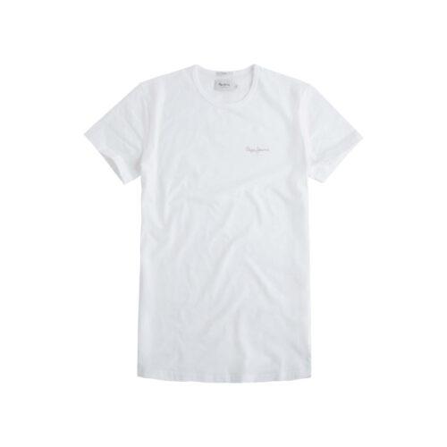 ΑΝΔΡΙΚΟ T-SHIRT NOS ORIGINAL BASIC PEPE JEANS PM503835-800 white