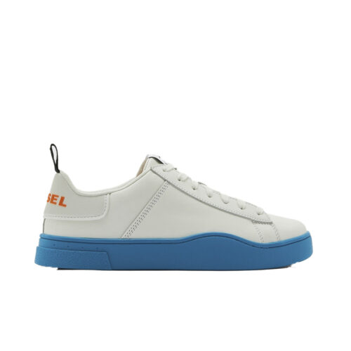 Diesel Ανδρικά Sneakers Xρώμα Λευκό DIESEL CLEVER S-CLEVER LOW LACE SNEAKERS Y02045 P3815 H8412-white