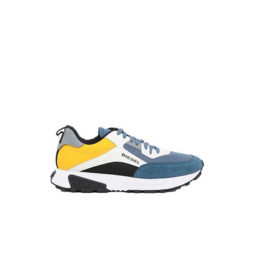Diesel Ανδρικά Sneakers Xρώμα Μπλε/Κίτρινο DIESEL TYCHE S-TYCHE LOW CUT SNEAKERS Y02635 P4005 H8611 blue/yellow