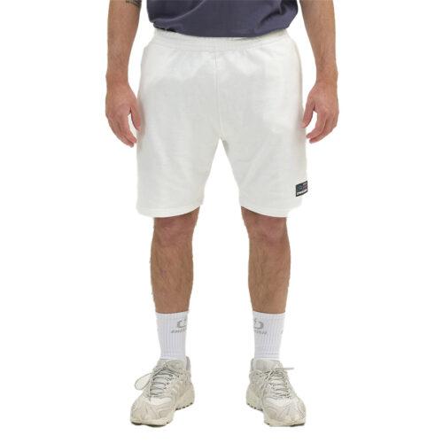 Ανδρική Μακό Βερμούδα EΜERSON Χρώμα Λευκό Emerson Men's Sweat Athletic Shorts 211.EM26.33 white