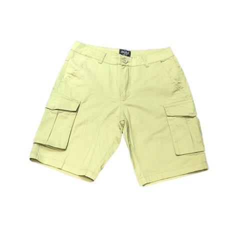 Ανδρική Cargo Βερμούδα PACO & CO cargo shorts 214623-beige