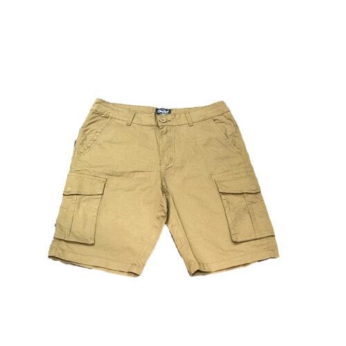 Ανδρική Cargo Βερμούδα PACO & CO cargo shorts 214623-camel